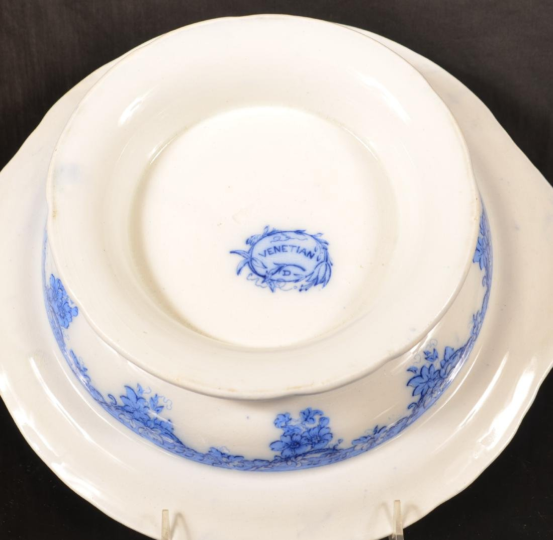 Four Ironstone China Covered Vegetable Dishes. - 4