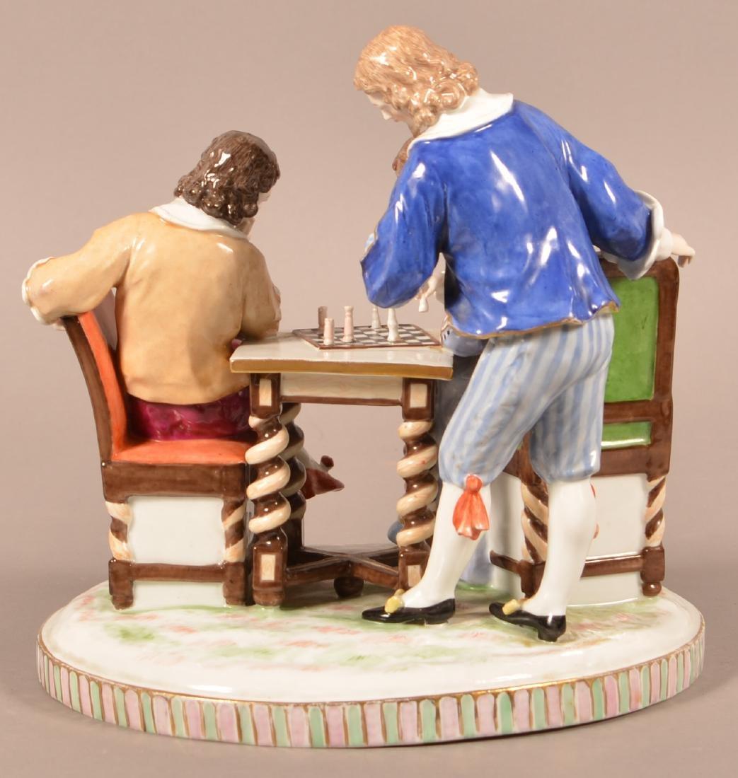 Capodimonte Porcelain Figural Group. - 3