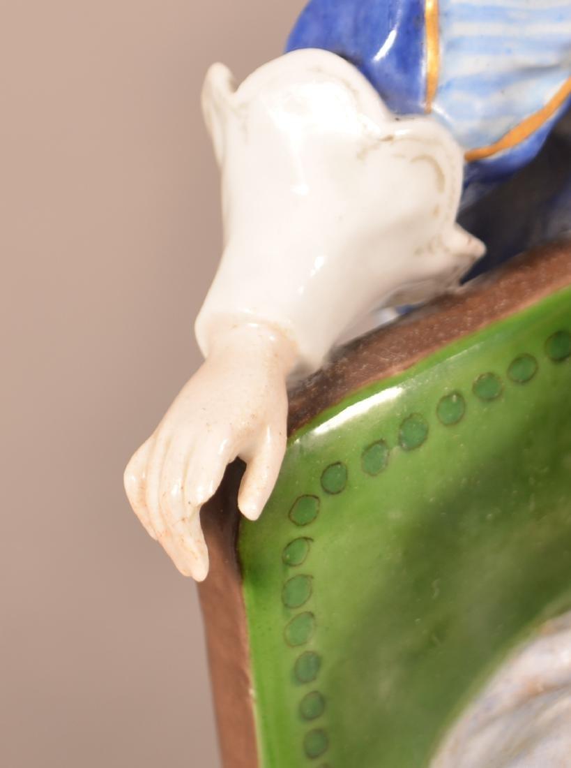 Capodimonte Porcelain Figural Group. - 5