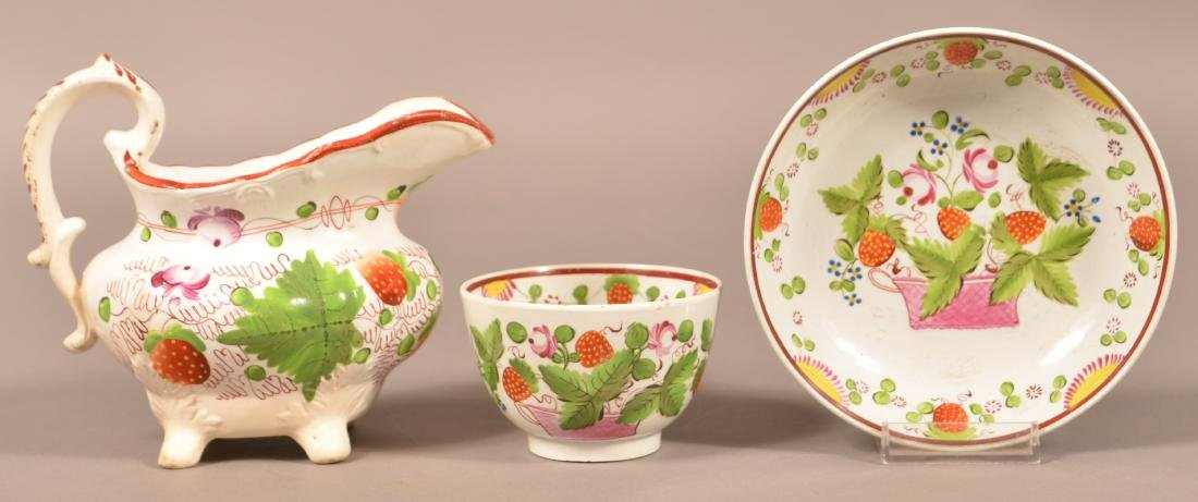 Strawberry Pattern Soft Paste China.
