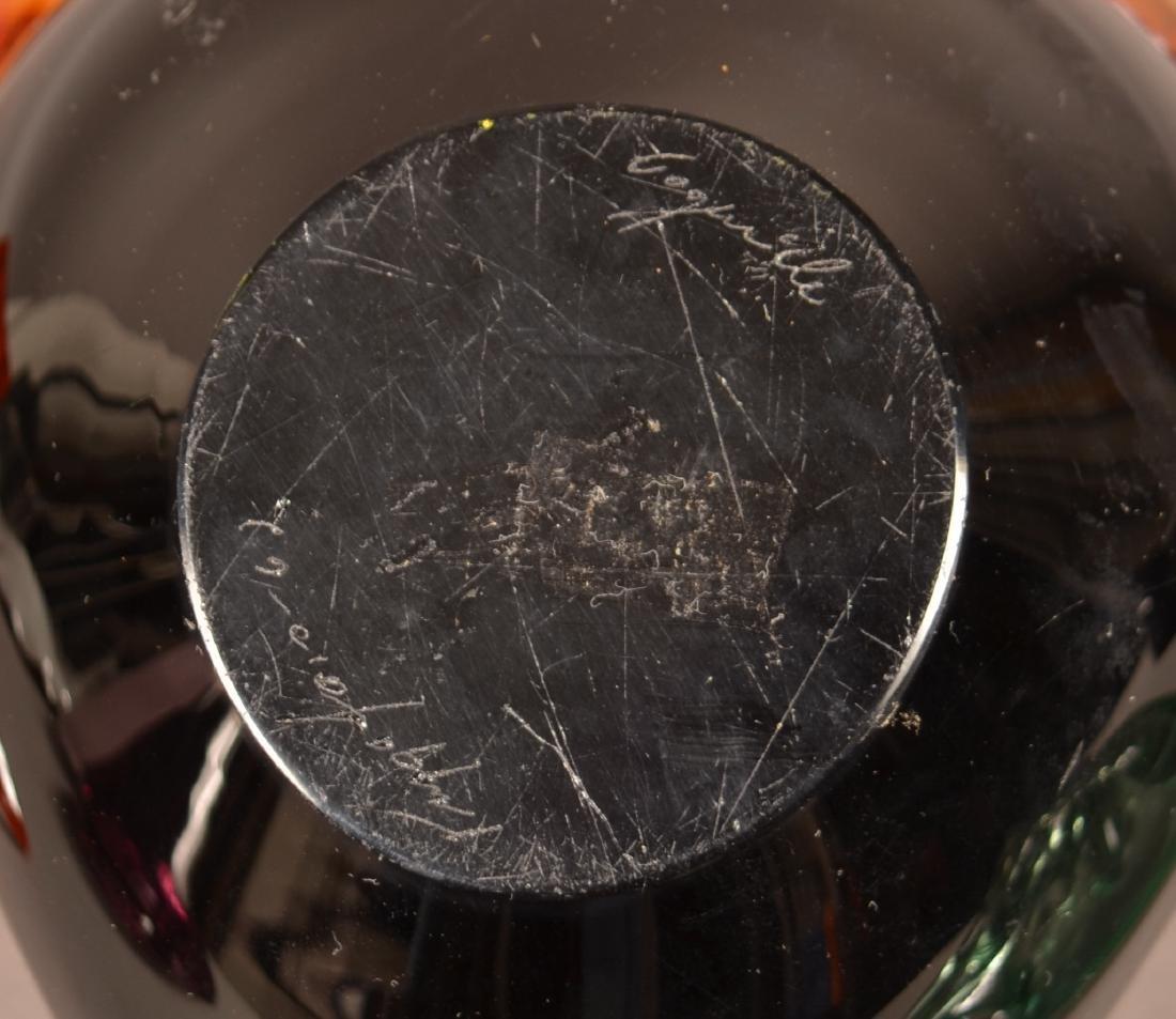 Seven Pieces of Contemporary Art Glass. - 3