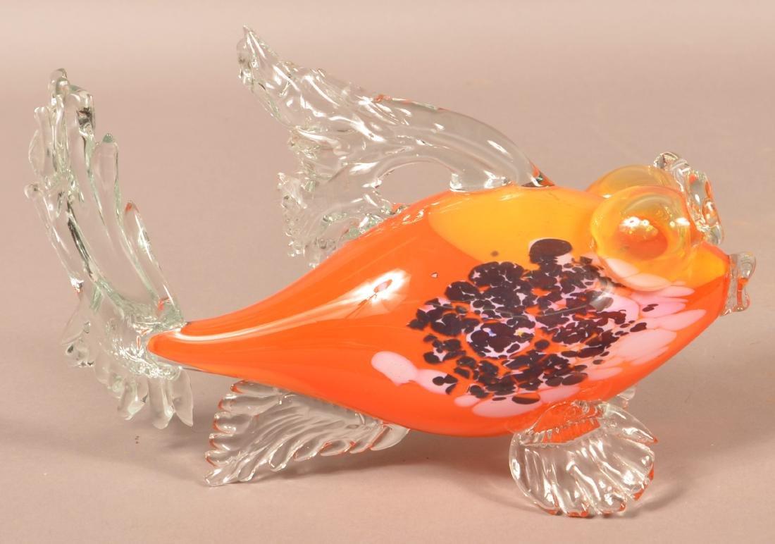 Four Contemporary Art Glass Animals. - 4