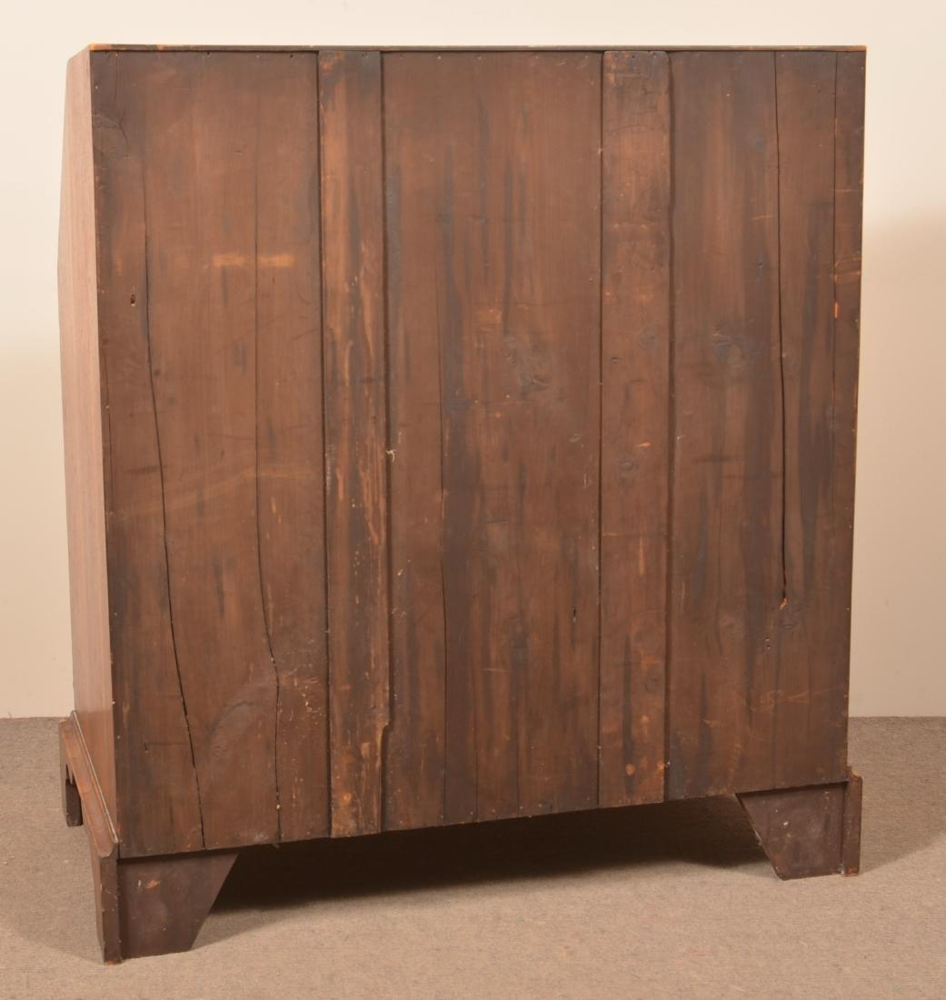 Mahogany Transitional Slant-Lid Desk. - 5