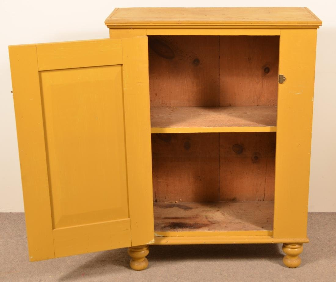 PA 19th Century Softwood Milk Cupboard. - 2