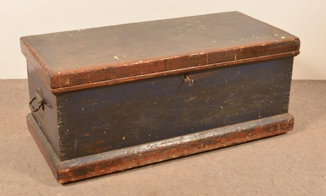 Pa Antique Softwood Tool Box.