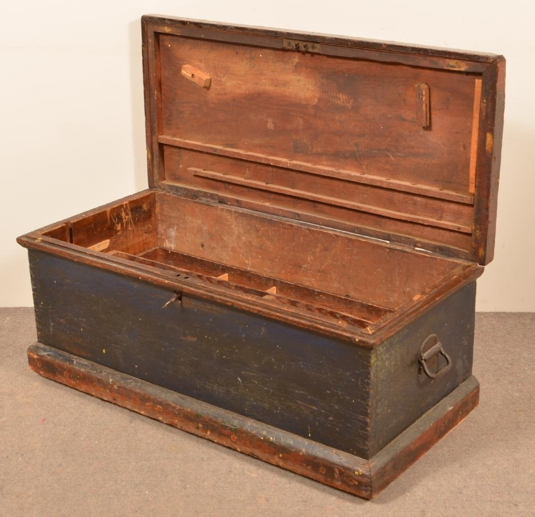 Pa Antique Softwood Tool Box. - 2
