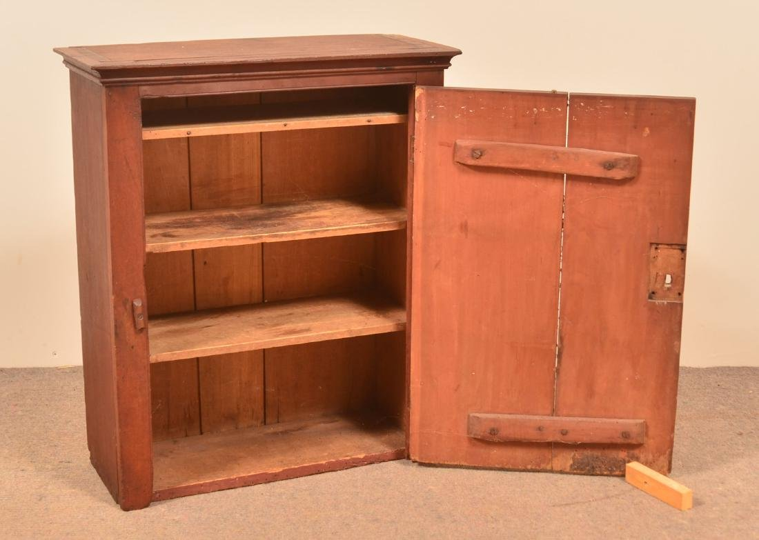 Pennsylvania 19th Century Cherry Hanging Cupboard. - 2