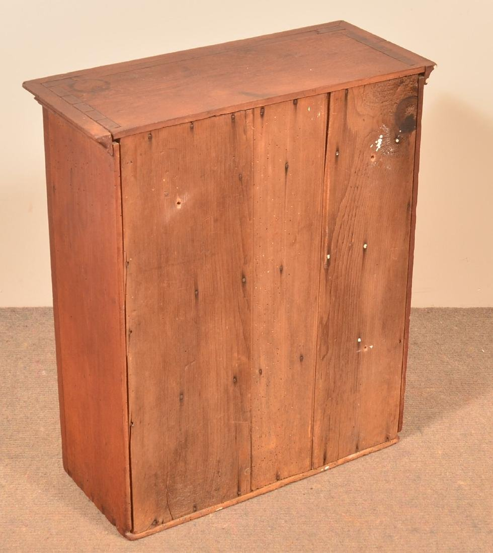 Pennsylvania 19th Century Cherry Hanging Cupboard. - 3