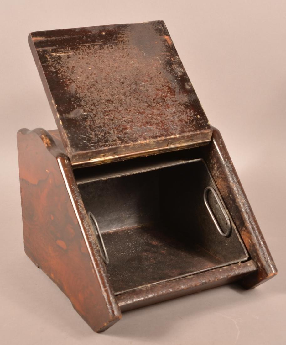 Victorian Inlaid Rosewood Coal Scuttle. - 2