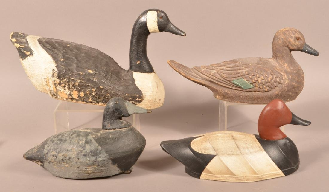 Four Various Decoys.