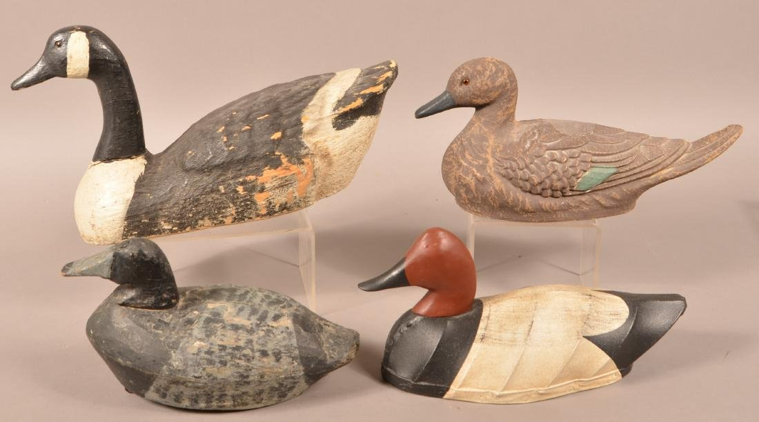 Four Various Decoys. - 2