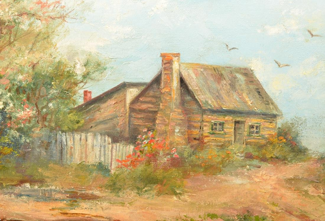 Mary B. Leisz Oil on Canvas Landscape Painting. - 3