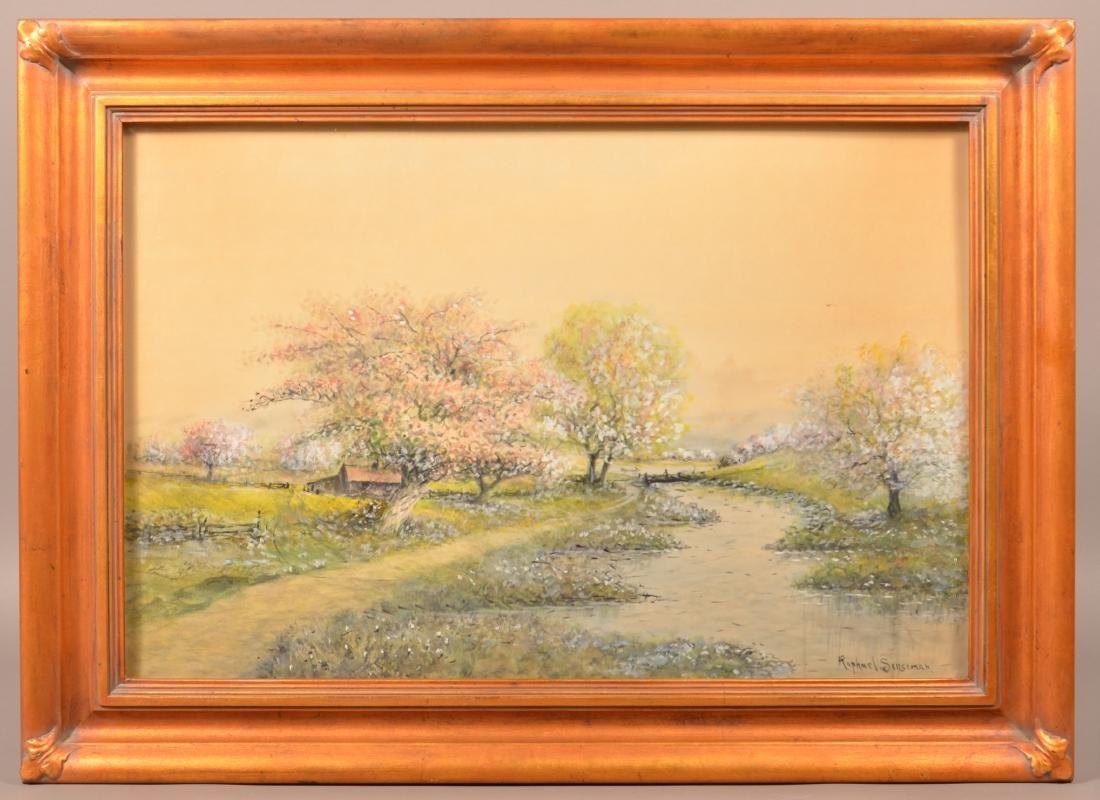 Raphael Senseman Spring Landscape Painting.