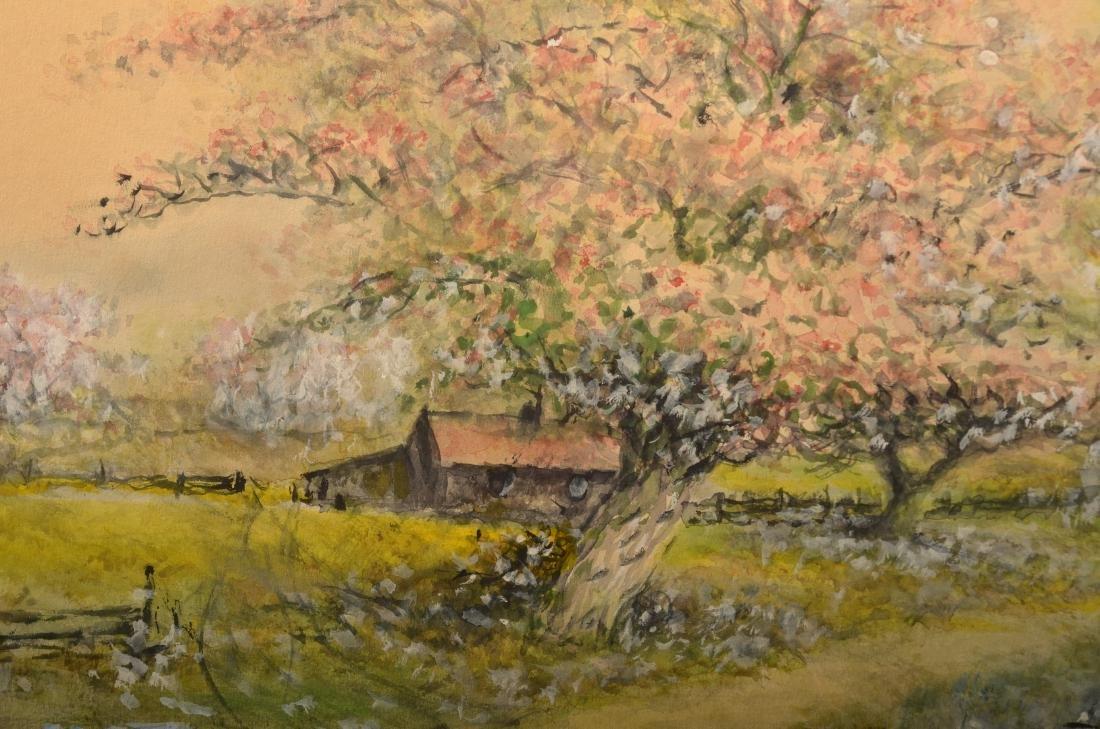 Raphael Senseman Spring Landscape Painting. - 4
