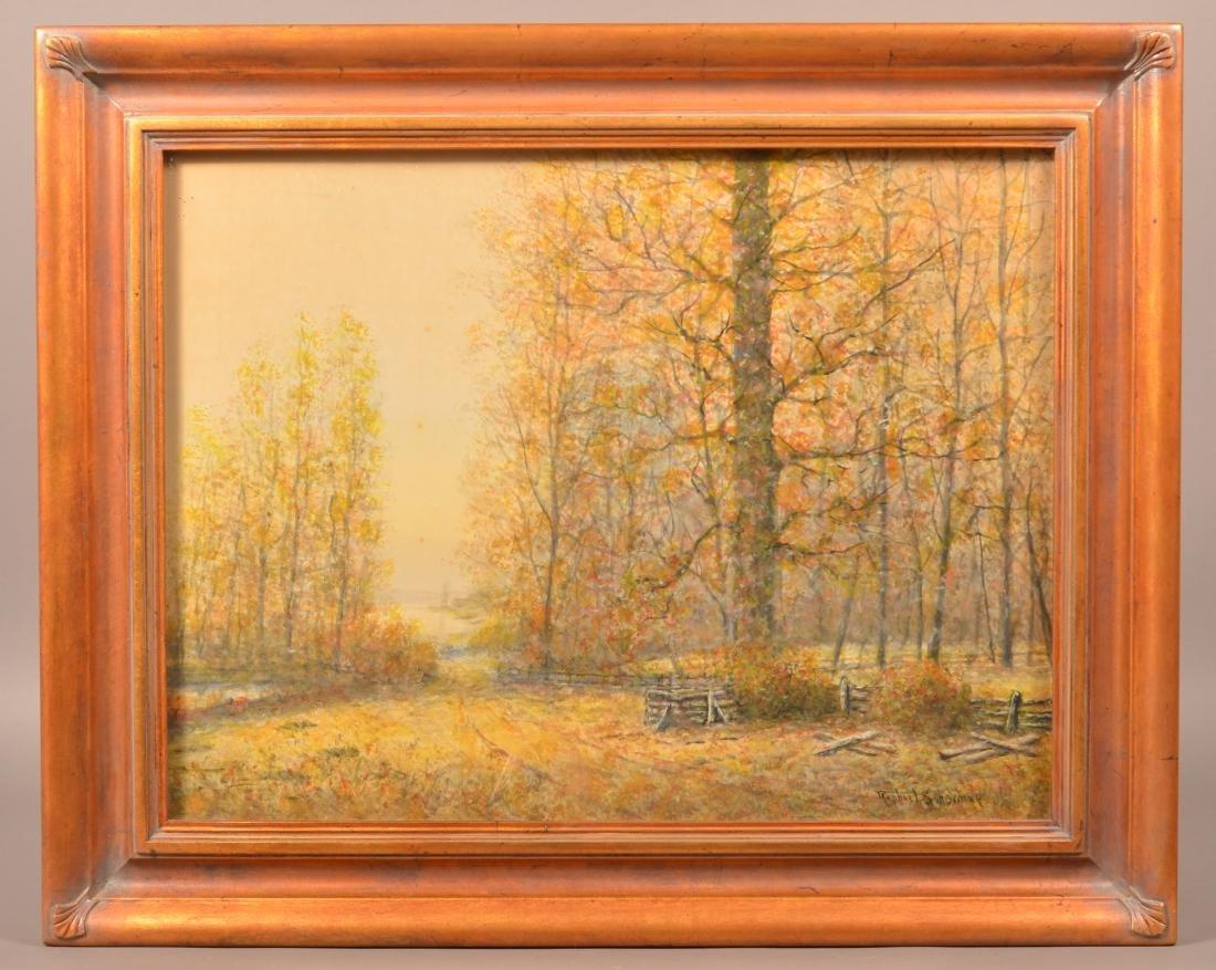 Raphael Senseman Autumn Landscape Painting.