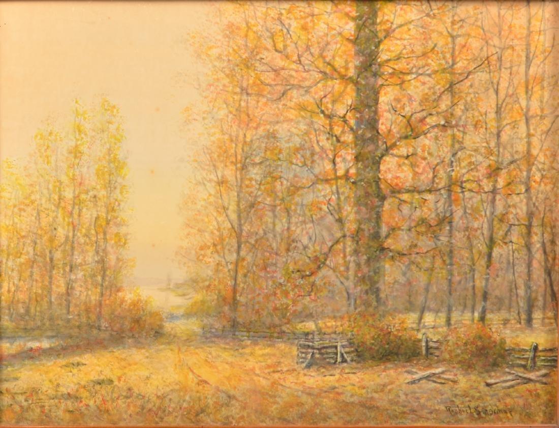 Raphael Senseman Autumn Landscape Painting. - 2