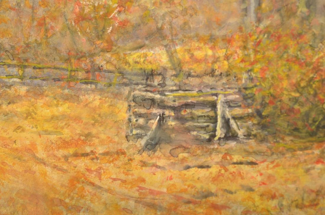Raphael Senseman Autumn Landscape Painting. - 4