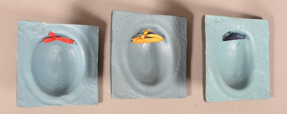 Three Alexander Flores Mexican Ceramic Wall Tiles. - 3
