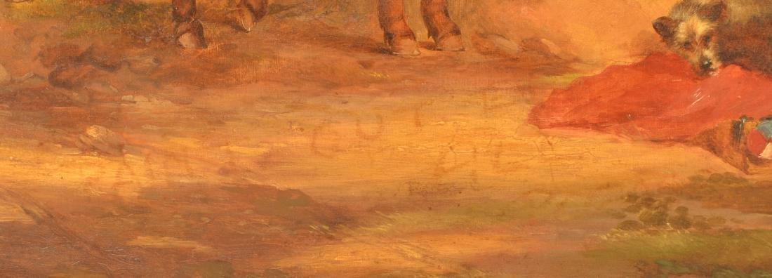 European Oil on Canvas Landscape Painting. - 3