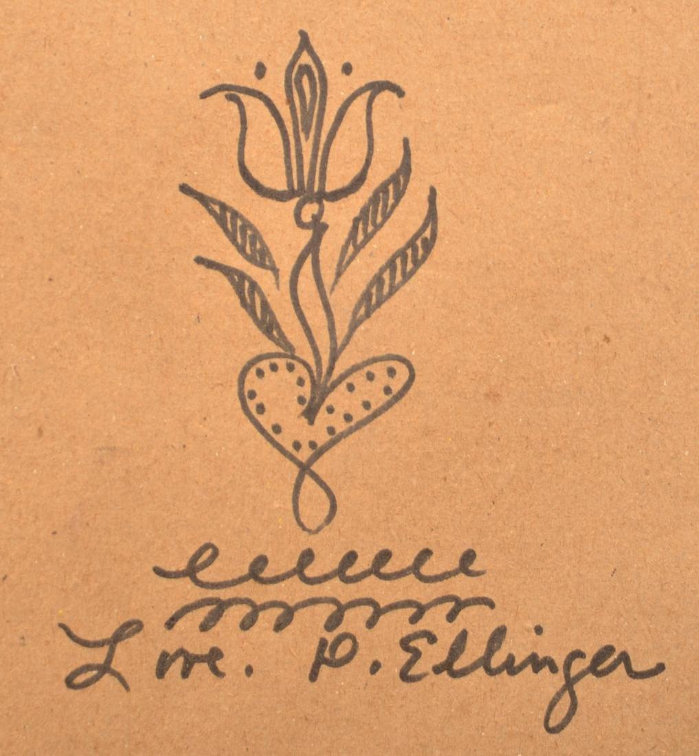 D.Y. Ellinger Watercolor on Paper Painting. - 3