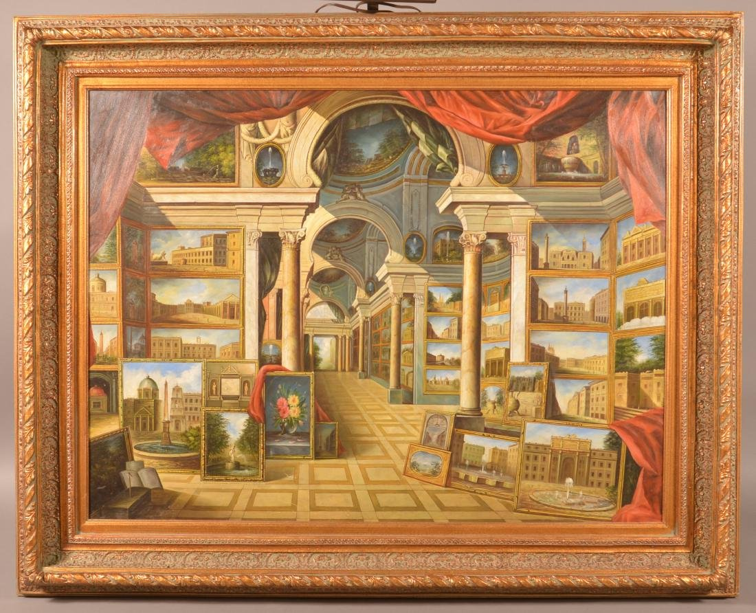 20th Century Copy of Giovanni Paolo Panini.