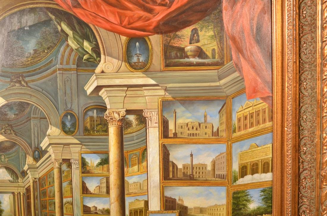 20th Century Copy of Giovanni Paolo Panini. - 3