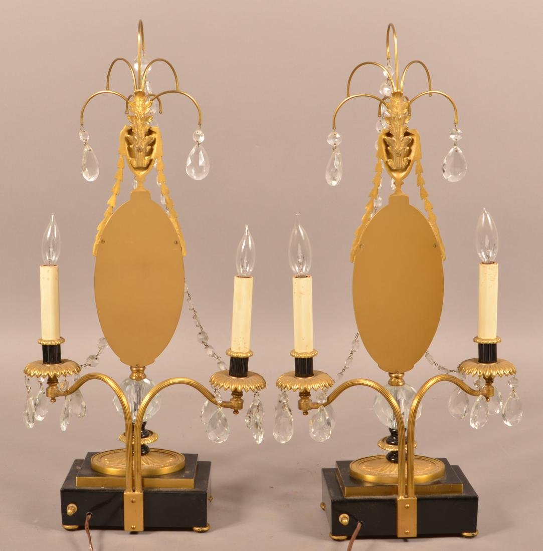 Pair of Period Style Electric Table Sconces. - 2