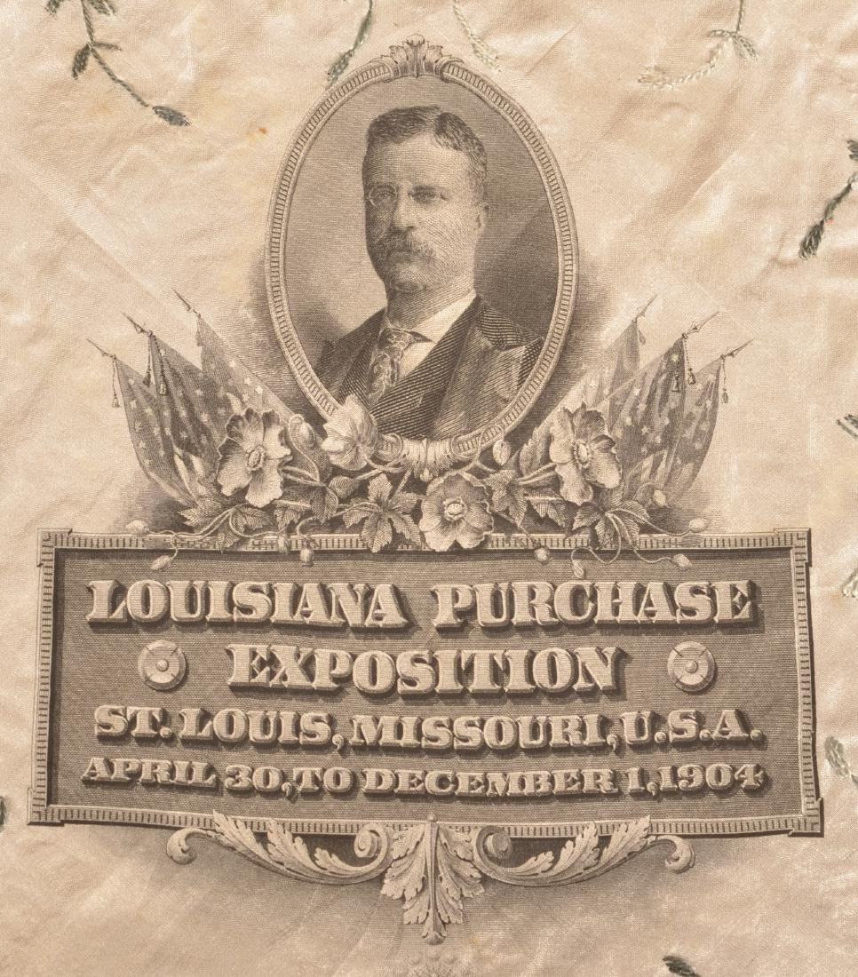 Louisiana Purchase Exposition Silk Handkerchief. - 2