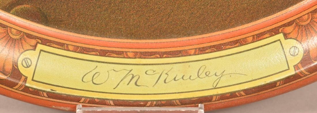 Two Antique Tin Lithograph Political Trays. - 5