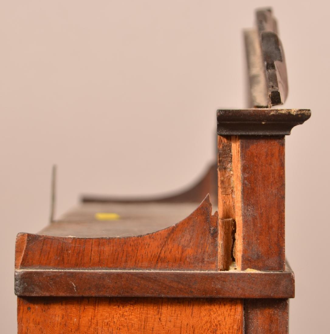 Seth Thomas Mahogany Case Shelf Clock. - 5