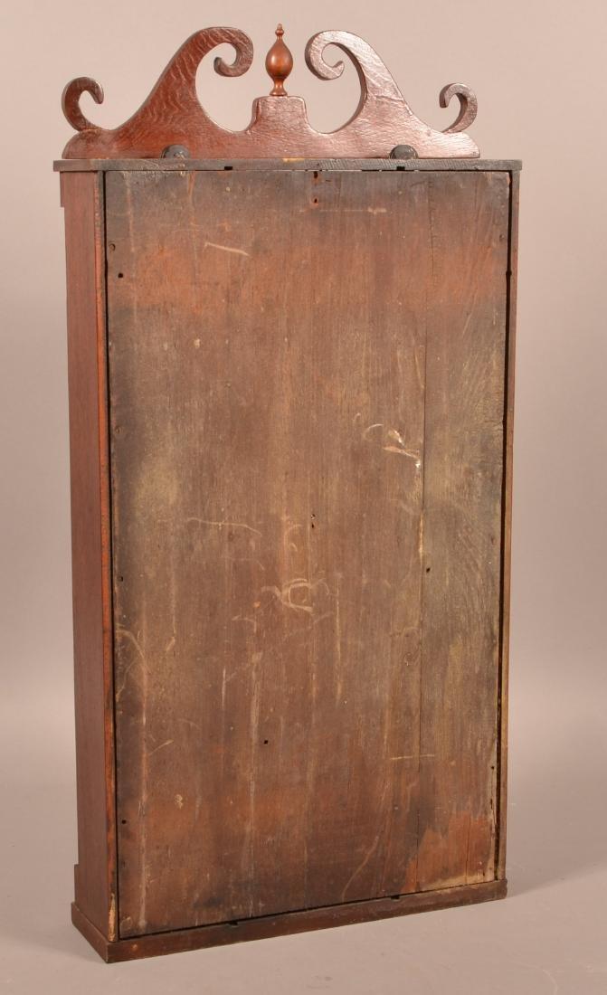 Norton, Preston & Co. Mahogany Shelf Clock. - 3