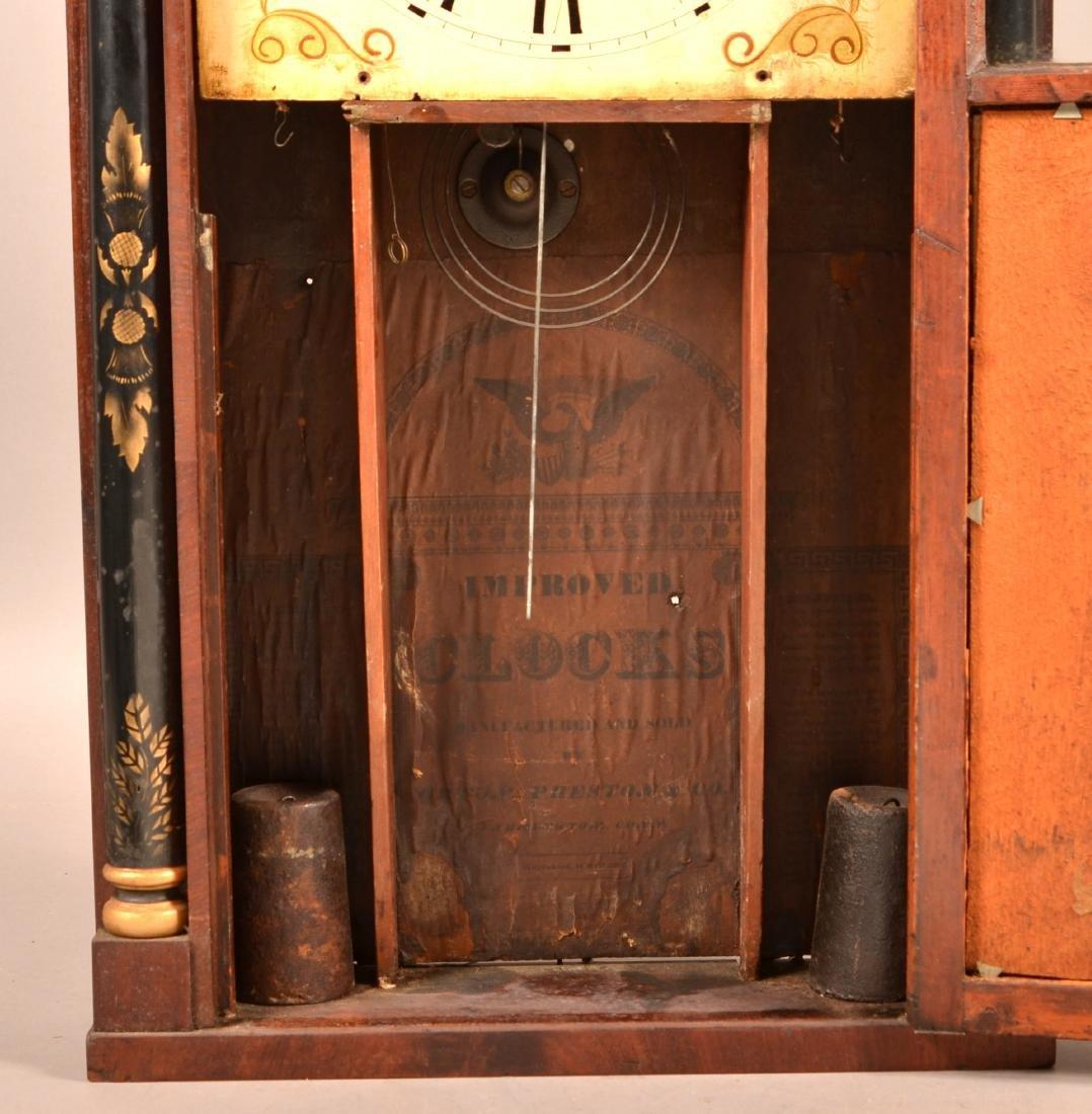 Norton, Preston & Co. Mahogany Shelf Clock. - 4