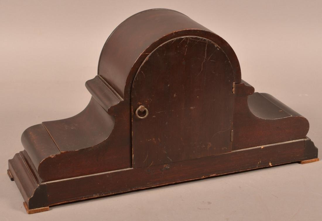 Wurttemberg German Mahogany Mantel Clock. - 3