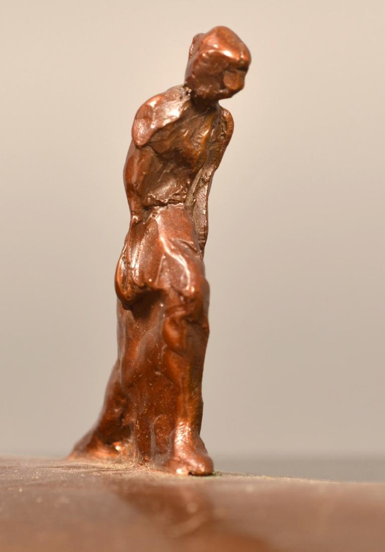 """Bronze Sculpture Signed """"1/21 Paden"""". - 3"""