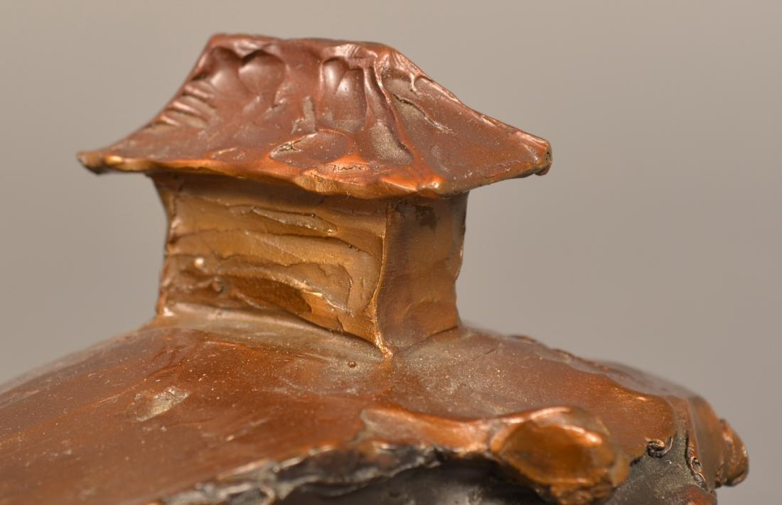 """Bronze Sculpture Signed """"1/21 Paden"""". - 5"""