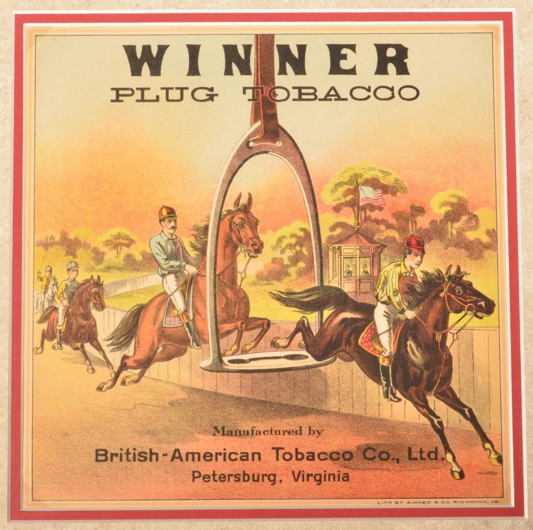 Six Vintage Cigar Crate Labels. - 2