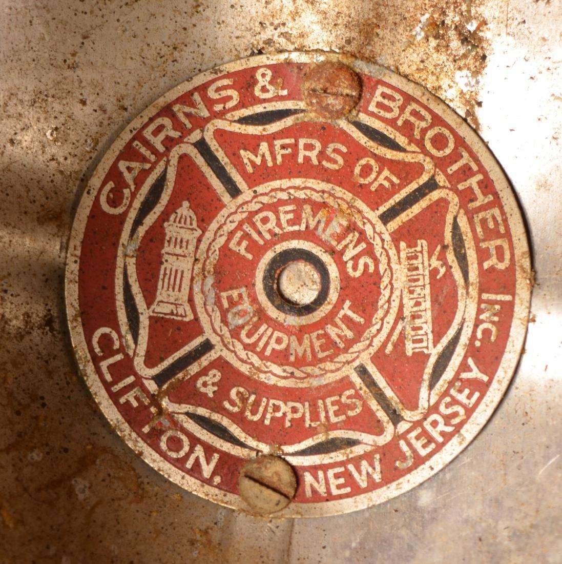 Two Vintage Fireman's Helmets. - 3