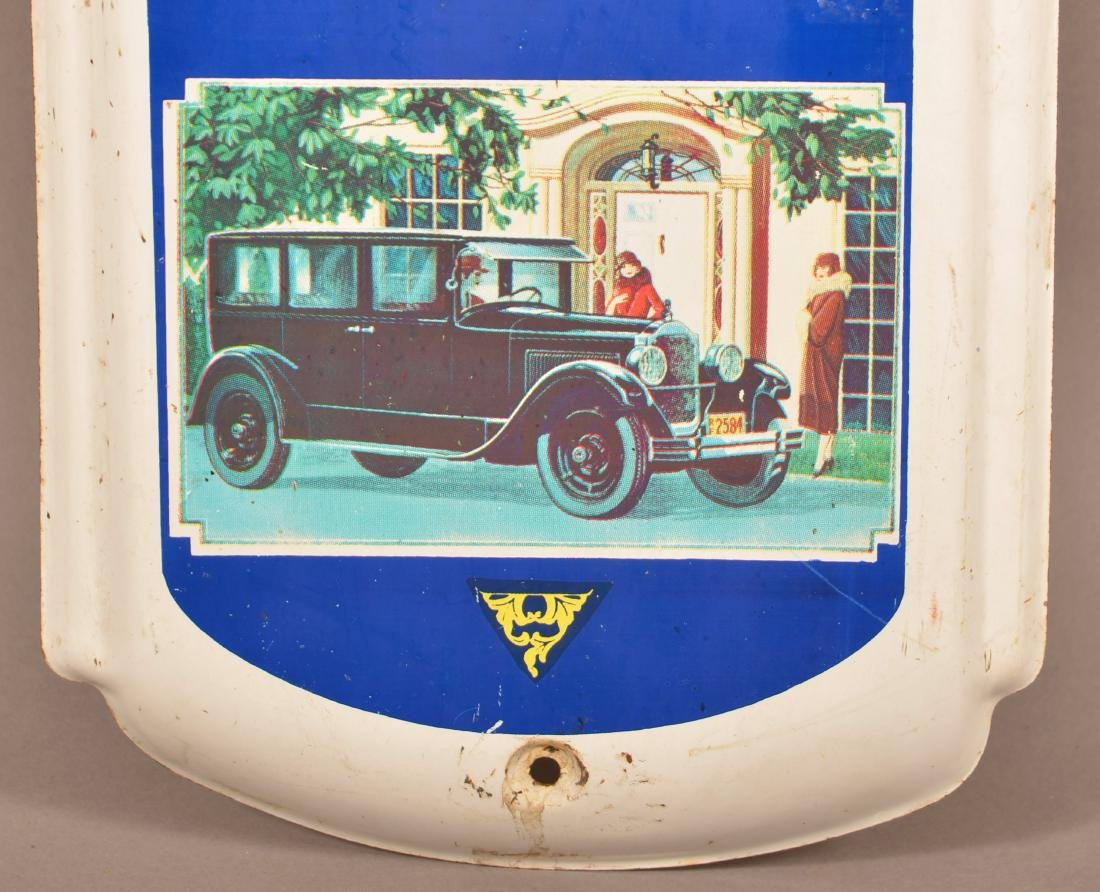 Packard  Tin Litho. Advertising Thermometer. - 3