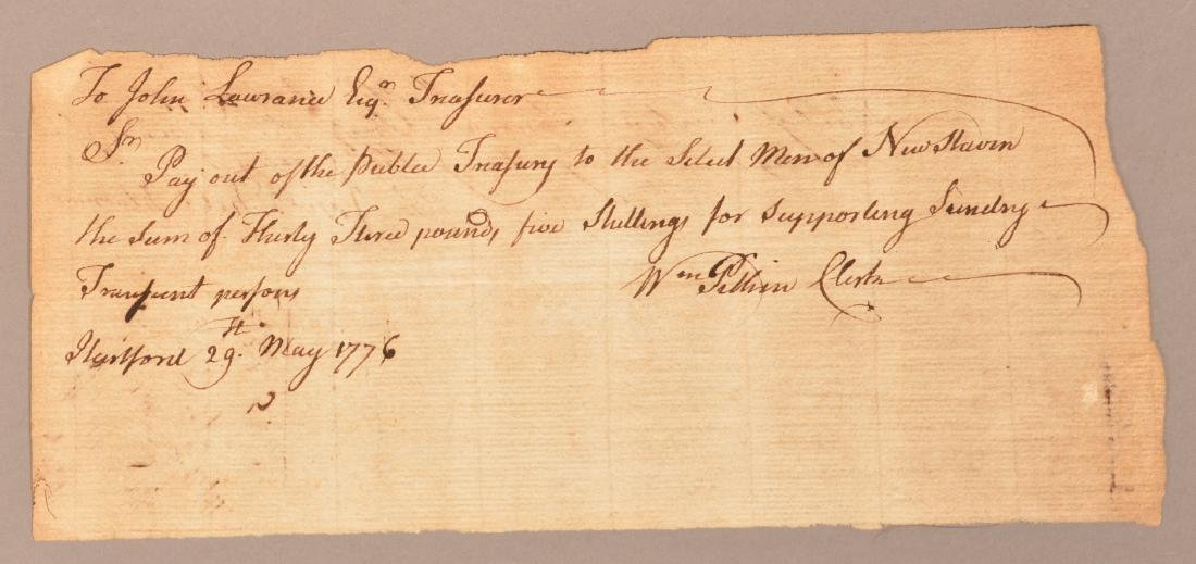 2 pcs. Two 1776 hand written documents - 4