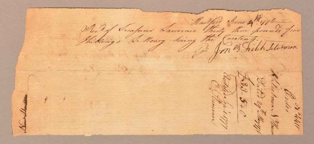 2 pcs. Two 1776 hand written documents - 5
