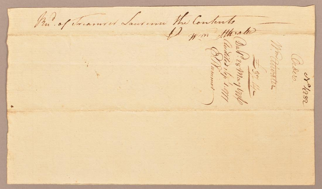 2 pcs Two May 1776 hand written documents - 5