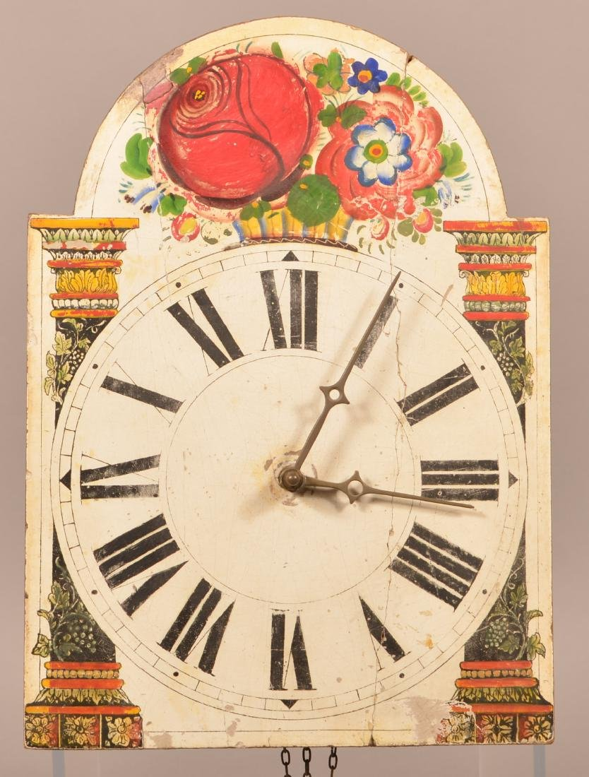 Antique Continental Wag on Wall Clock.