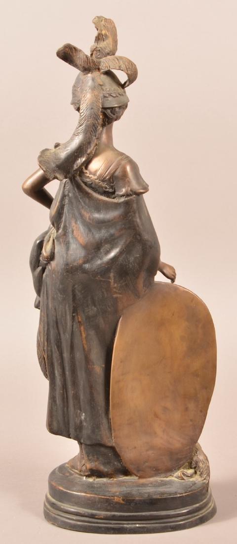 Antique Bronze Figural Sculpture of Athena. - 3
