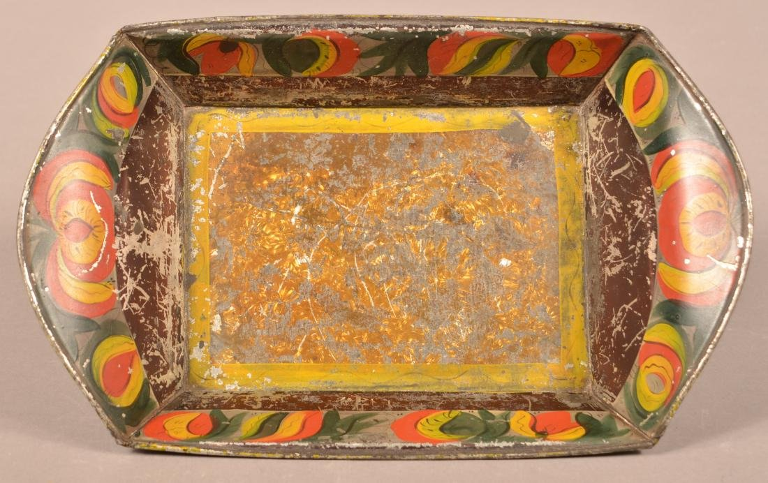 Pennsylvania 19th Century Toleware Bread Tray.