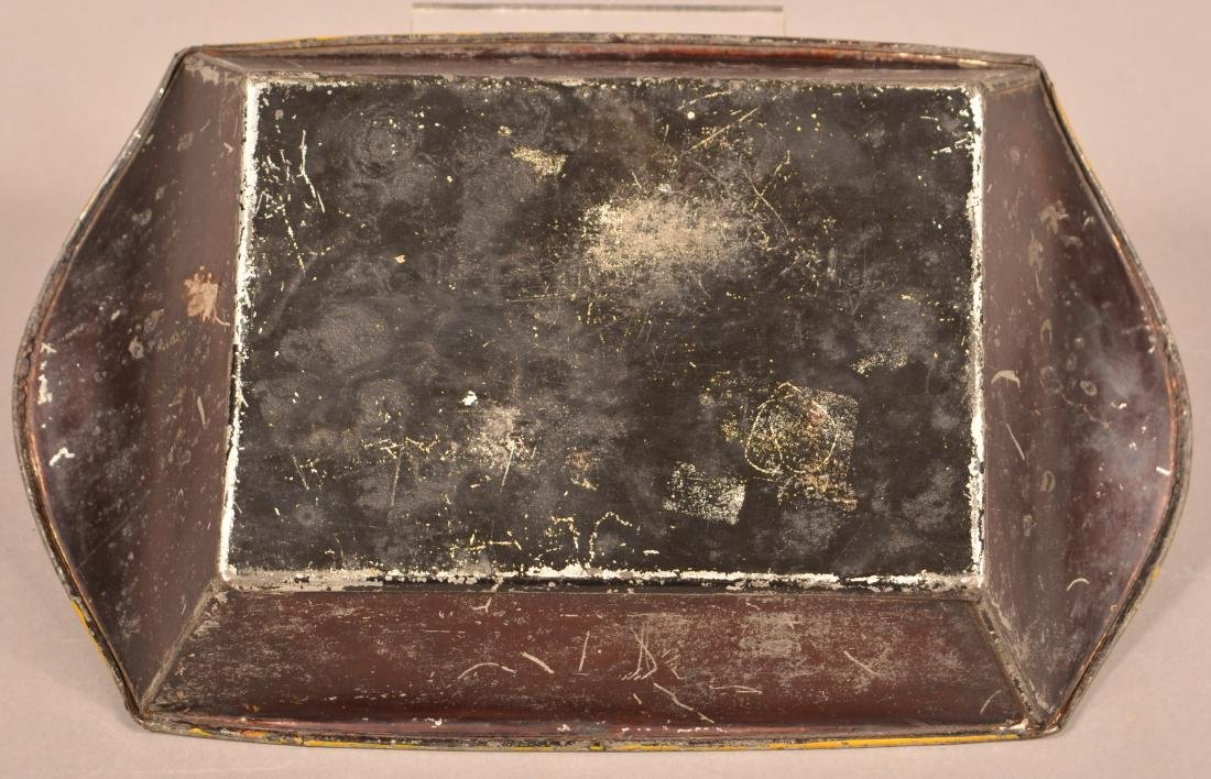 Pennsylvania 19th Century Toleware Bread Tray. - 3