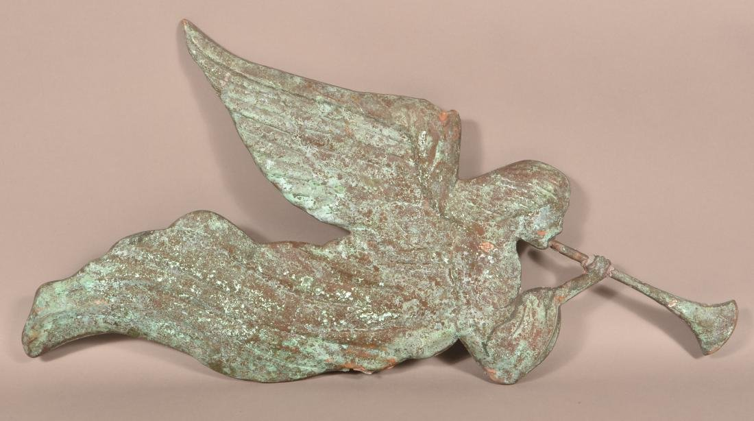 Vintage Copper Gabriel Weathervane.