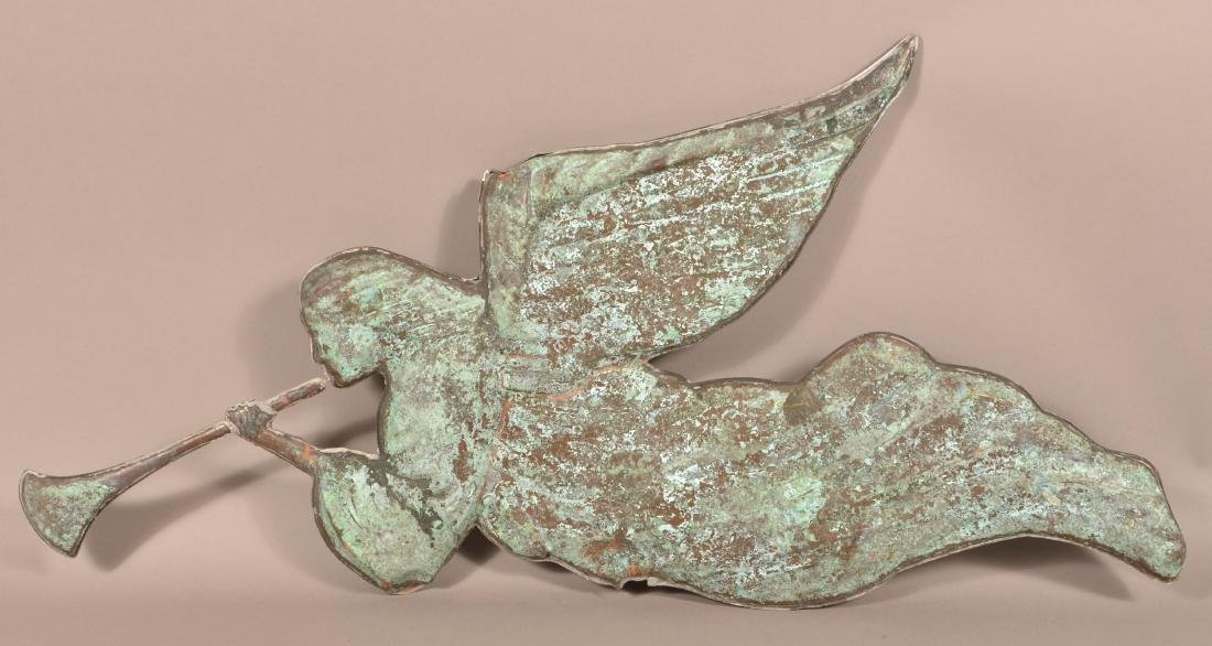 Vintage Copper Gabriel Weathervane. - 2