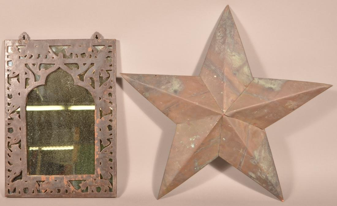 Two Pieces of Vintage Metalware.