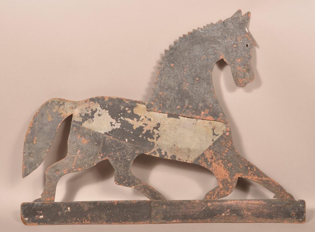 Sheet Metal Horse Weathervane.