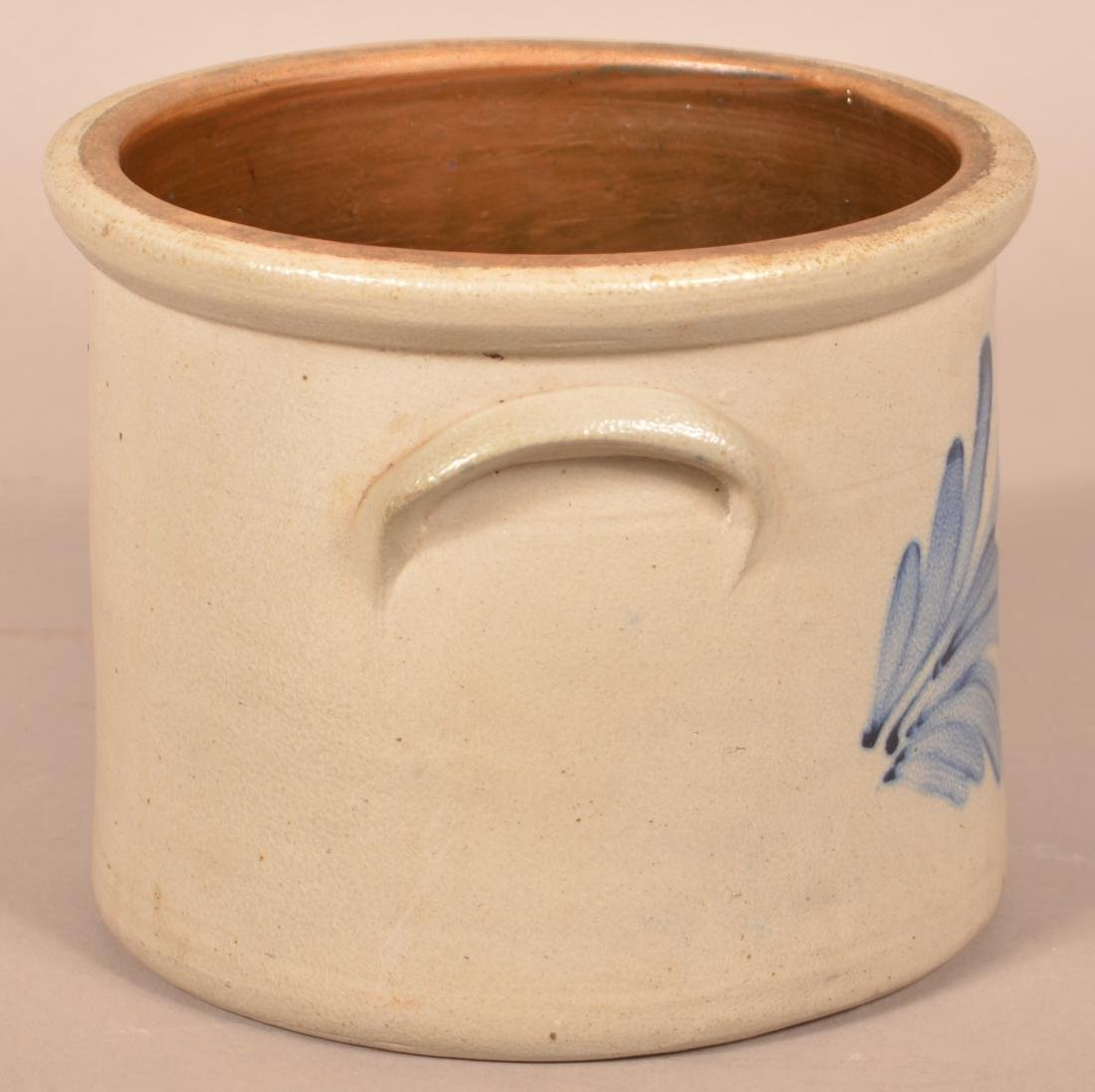 Lewis Jones, Pittston, PA One Gallon Stoneware Crock. - 3
